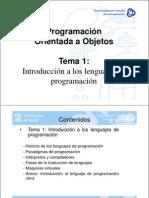 POOTema1-IntroLengProg