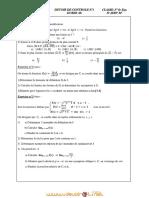 Devoir de Contrôle N°1 - Math - 3ème Sciences exp (2011-2012) Mr Jery Mohamed