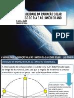Ppt14 - A Variabilidade Da Radiação Solar Ao Longo Do Ano