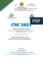 Notice Cnc2021