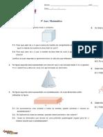 Ficha - Área e Volume de Sólidos (3) _com Soluções