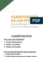 3 Clasificación y Elementos Personales