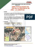 Reporte Complementario Nº 4648 24dic2020 Vandalismo Por Bloqueo de Carretera en La Provincia de Viru La Libertad 6