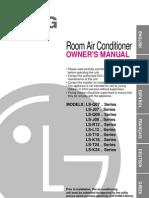 LG AC Manual
