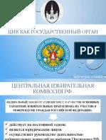 ЦИК РФ как государственный орган
