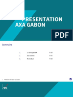 Présentation AXA Gab SANTE