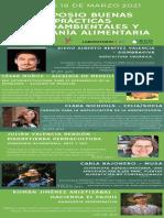 Cronograma Simposio Buenas Prácticas Agroambientales y Soberanía Alimentaria - Universidad de Medellín