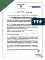 Resolución 000409 Resolución No. 125 del 19 de enero de 2021