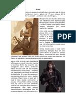 História de Personagem D&D 5e - Feiticeiro Selvagem - Breno