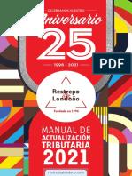Manual de actualizacion tributaria 2021 - RYL - 25 años-1