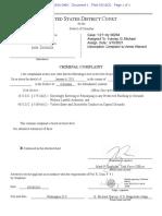 Mark Roger Rebegila Charging Documents