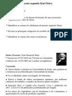 Slides - K. Marx - Desenvolvimento