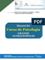Manual do Curso de Psicologia UNISUL