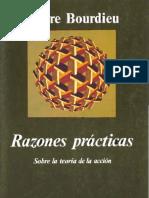 Bourdieu-Razones practicas