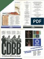 Programa de concerto - Arthur Moreira Lima e Orquestra Sinfônica Brasileira (TMRJ, 20-04-1985)