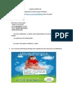 Atividade de Língua Portuguesa sequencia 2