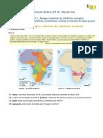 Ficha de Avaliação Sobre o Imperialismo