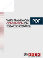 WHO Geneva - Tobacco Amendment