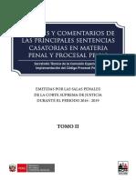 Libro - Análisis y Comentarios de Las Principales Sentencias Casatorias en Materia Penal y Procesal Penal – Tomo II.pdf