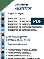 LOS PRINCIPIOS CRIMINALÍSTICOS