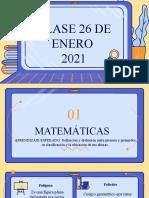 CLASE 26 DE ENERO 2021