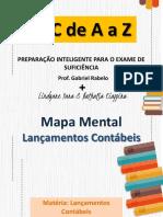 1 - Mapa Mental - Lançamentos Contábeis