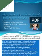 Taller pedagógico Online n° 2 Profesora Poolett T.