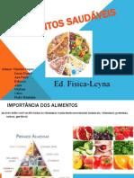 Alimentos Saudáveis-ED. Física