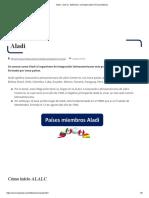 Aladi - Qué Es, Definición y Concepto _ 2021 _ Economipedia