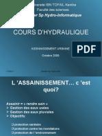 Cours d'Hydraulique Hurbaine (1)