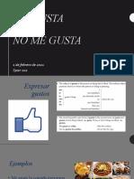 Clase 5 (1 de Febrero) Me Gusta_Span 102
