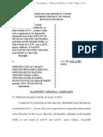 Nicolas Chavez lawsuit