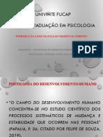 Introdução desenvolvimento humano