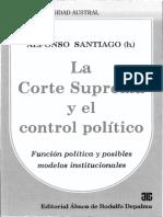 La Corte Suprema y El Control Político