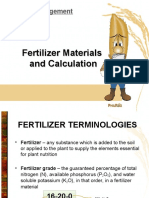 PhilRice - Fertilizer Calculation
