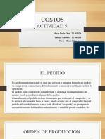 Presentacion Costos Actividad 5