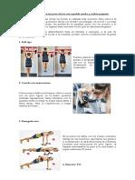 10 Sencillos ejercicios para chicas con espalda ancha y cadera pequeña