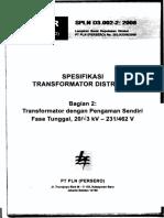 SPLN D3-002-CSP 2008