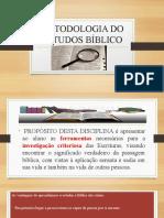 METODOLOGIA DO ESTUDOS BÍBLICO (1)