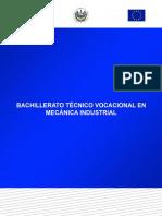 Plan de Estudios de Mecanica Industrial