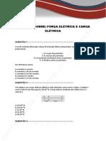 -LISTA-1-Forca-Eletrica-e-Carga-Eletrica