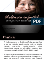 Violência infantil, vc precisa ouvir esse grito