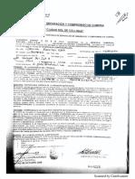 Contrato de Separación y Compromiso de Compra - Ciudad Sol de Collique. 28 Abr 2011. Guzman Oré. Lector