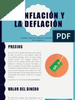 La inflación y la deflación Joshua