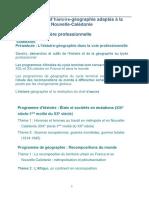 Programme adapté 1ère Bac pro, Mise en oeuvre 2021