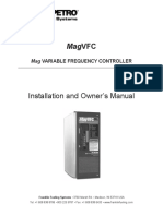 MagVFC Variable Frequency Controller Installation & Owner's Manual
