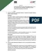 ESPECIFICACIONES TECNICAS LIMPIEZA Y DESCOLMATACION DEL RIO CORANI