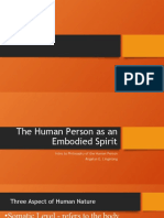 embodiment of the human person