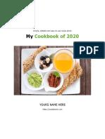 Usedtotech.com - 27 Simple recipe ebook template in Microsoft Word