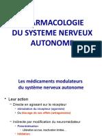 Pharmacologie Du Systeme Neveux Autonome